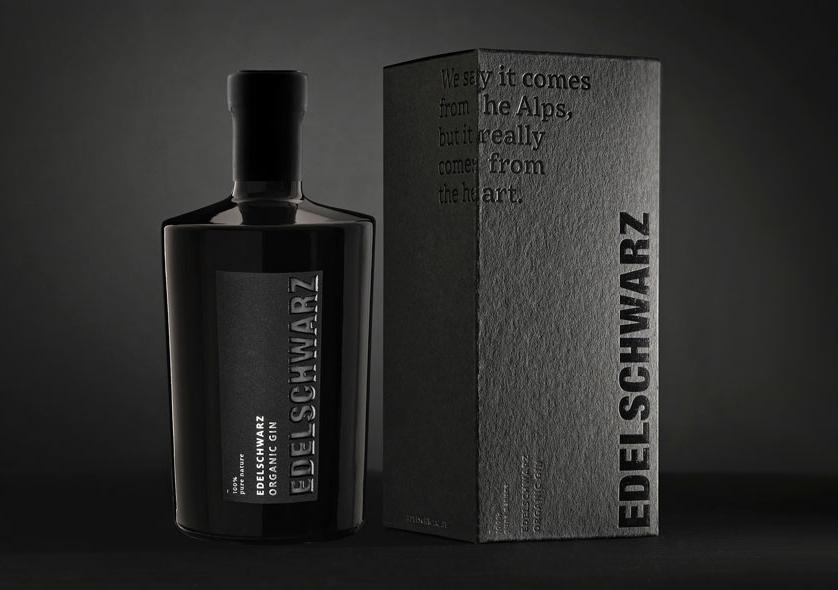 Edelschwarz Organic Gin - Gin Tonic