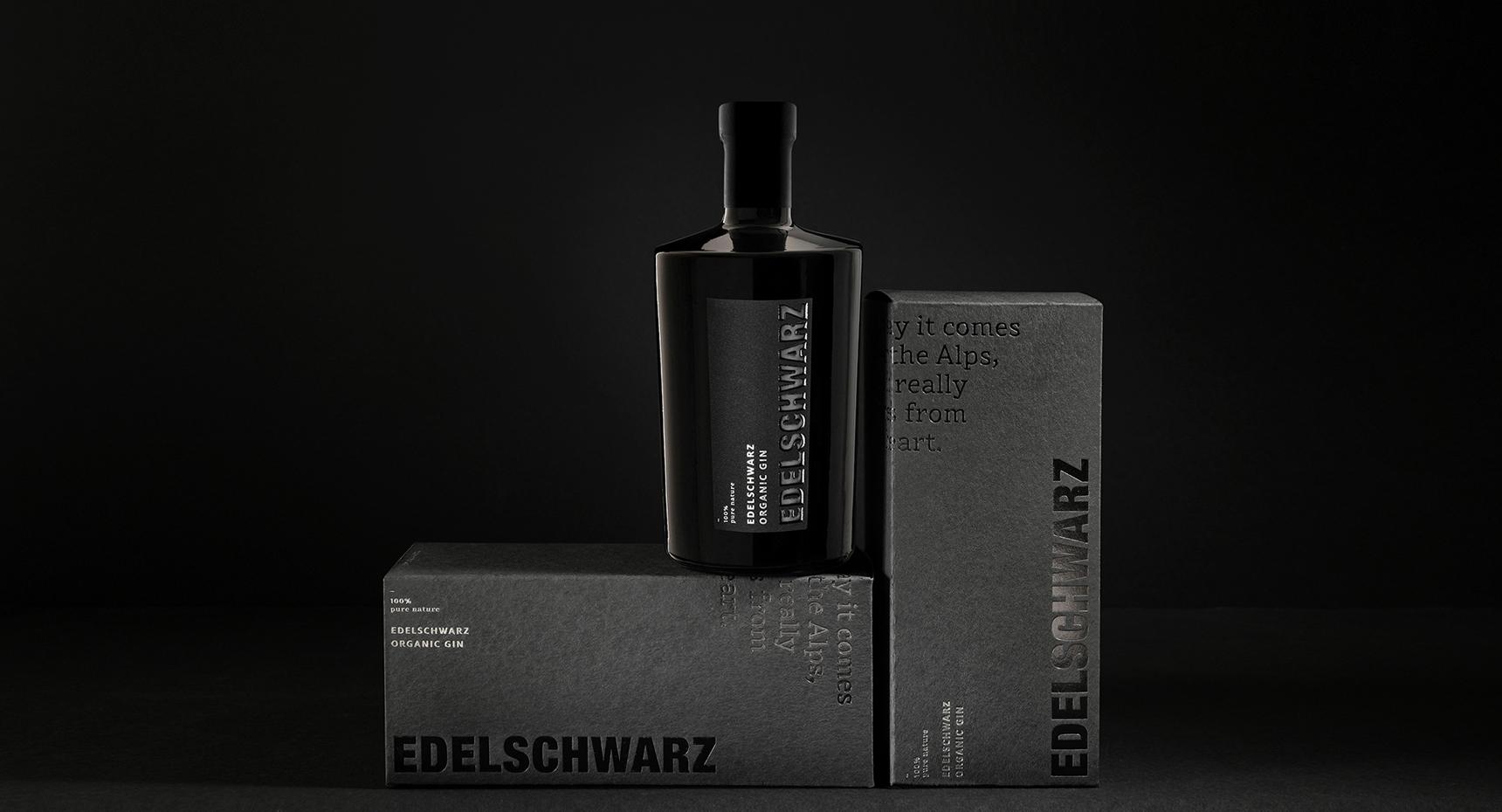 Edelschwarz Organic London Dry Gin by Gompmalm